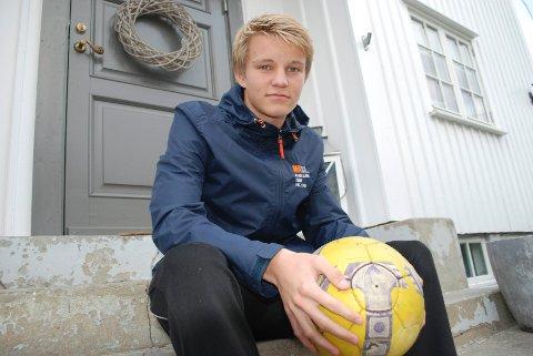Martin Ødegaard skal trene med G 16-laget til Bayern München.