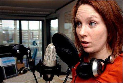 Audhild Gregoriusdotter Rotevatn er nyhetsankeret i Kanal 24. – Jeg lever med nyhetene, sier hun til Fredriksstad Blad.