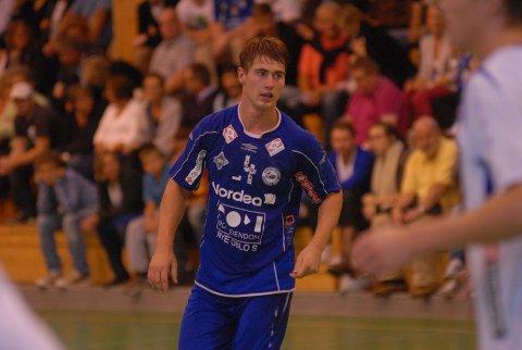 Johannes Hippe scoret åtte mål mot Drammen. Men spilleren selv var knust over det svake forsvarsspillet etter kampen.