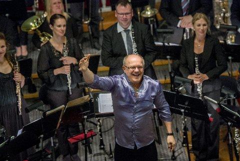 Enestående: Festival of Music for Winds and Percussion hadde sikret seg en enestående frontfigur i Christian Lindberg.