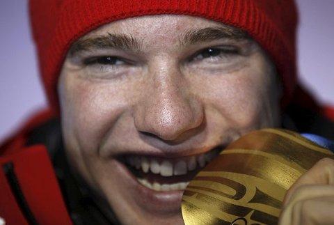 Dario Cologna, Sveits, tok ett OL-gull.