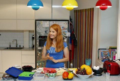 Susanne Kaluza (31) er journalist, blogger og tobarnsmor. Nå også forfatter.