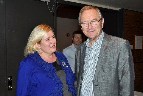 SKAL STYRE:  Enebakkordfører Tonje Anderson Olsen overtar som leder for Follorådet etter ordfører Johan Alnes i Ås. FOTO: LARS NORSTED