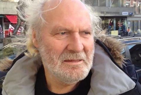Rolf Opås (66) brast i gråt da det ble kjent at politiet har henlagt revolvertrussel-saken.