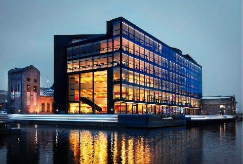 Biblioteket i Drammen.