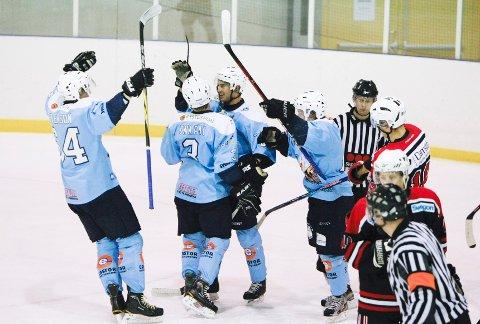 Seagulls tok med seg fire poeng hjem fra Kristiansand. Her fra en hjemmekamp mot Lokomotiv Fana tidligere denne måneden.