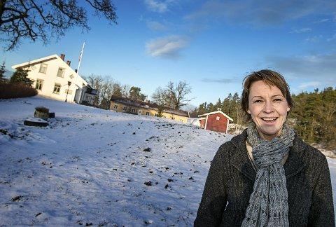 BREIVOLL FOR ALLE: Rikke Soligard håper politikerne i Ås vil ha tro på forslaget om     å etablere et senter for natur, kultur og helse på Breivoll Gård. ALLE FOTO: AUDUN BRAASTAD