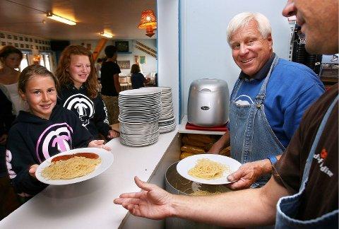 FORINGSTID 2005: Uten mat og drikke duger ingen, spør du Tomm Murstad.