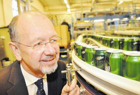 Administrerende direktør Terje Aass i Aass bryggeri.