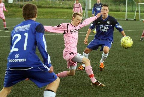 CUPEN: Robin Rasch og Follo FK møter DFI i juniorcupen. FOTO: Knut Stenseth