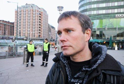 Arild Knutsen i foreningen for human narkotikapolitikk er ikke imponert over uttalelsen fra krimsjef Ivar Prestbakken.