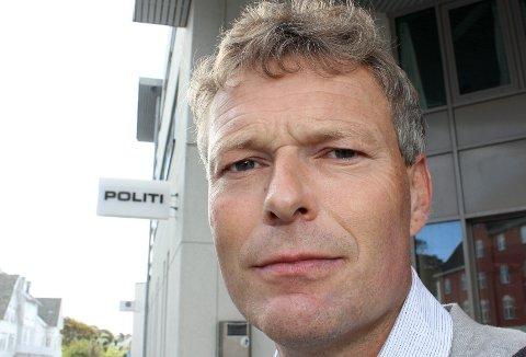 Bernt Norvalls er lensmann på Stord.