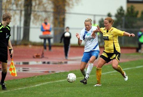 Synne Jensen og Kolbotn fikk det tøft mot serieleder LSK hjemme på Sofiemyr stadion.