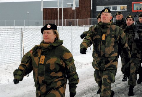 Generalinspektøren for Heimevernet (GIHV), generalmajor Kristin Lund og hennes stab (HVST)  med 40 mann flytter formelt inn på Terningmoen i dag.