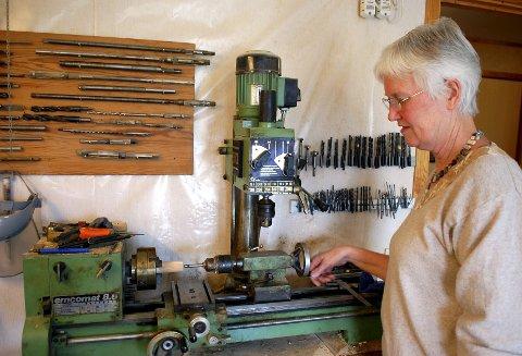 Utstyr: Instrumentene til blokkfløyteverksted kjøpte Bodil for pengene som Securitasvakt i unge dager.