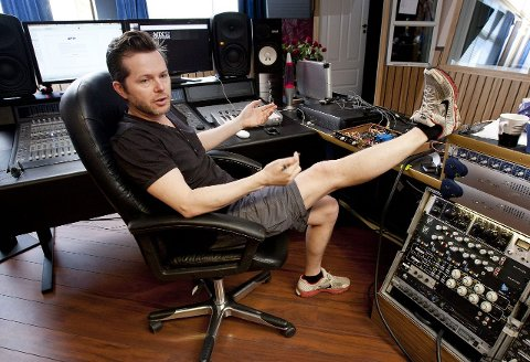 STOLT: – Jeg har investert mye tid og følelser i det nye Vamp-albumet, sier Espen Lind.