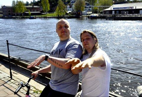 Stian Thorbjørnsen og Lasse Jensen i «Staysman & Lazz» er ute med en ny musikkvideo, denne gangen sammen med Petter Katastrofe.