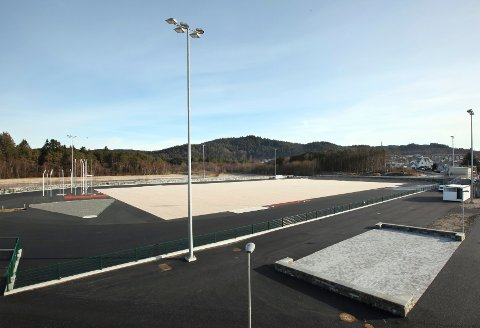 HIL skal arrangere NM på sin nye friidrettsarena ved Haraldsvang.
