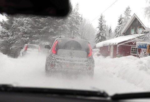 Vintertest er først og fremst timer bak rattet på ufyselig føre.