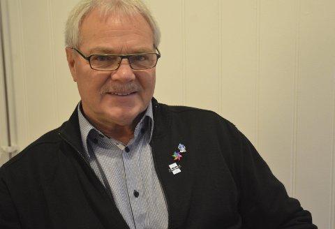 FOKUS PÅ KREFT: Håkon Olav Nesbakk er leder i Profo Hedmark og Oppland. Han har latt barten gro i november, og oppfordrer alle til å støtte movemberaksjonen.