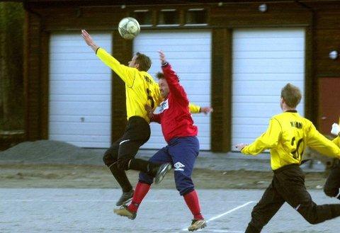 TAPTE: Åskollen var bedre enn KIF og Ronny Hvambsahl i Idrettsparken i går. Rødtrøyene tapte 1-6. (Foto: Cato Martinsen).