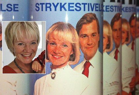 Bildet av Mette Buan på STIFF strykespray lever i beste velgående.