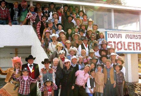 VILLE I VESTEN: 70-årsfest med 70 gjester, selvfølgelig, på Høyerholmen.