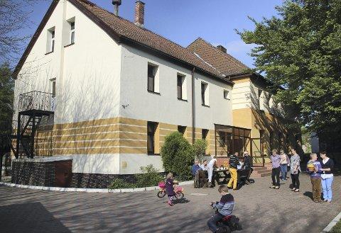 Barnehjemmet: Her er barnehjemmet som golferne fra Oppegård har hjulpet – og skal fortsette å hjelpe.