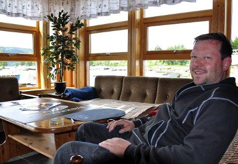 Klubbhus: Klubbhuset til Moelv båtforening er riktig så flott.