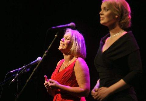 At Solveig (til venstre) og Ina Kringlebotn synger på samme scene hører med til sjeldenhetene. Derfor var opplevelsen i Kolben ekstra stor.