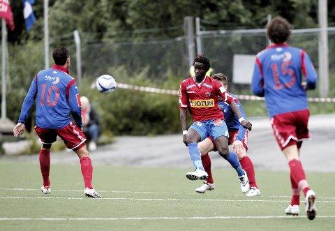 Sandefjord Fotball startet andre omgang med klar ledelse mot Tromsdalen. Cheikhou Dieng sendte en målgivende pasning til Cato Hansen i kampens 28. minutt.