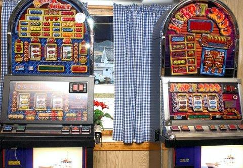 Spilleautomat gammel