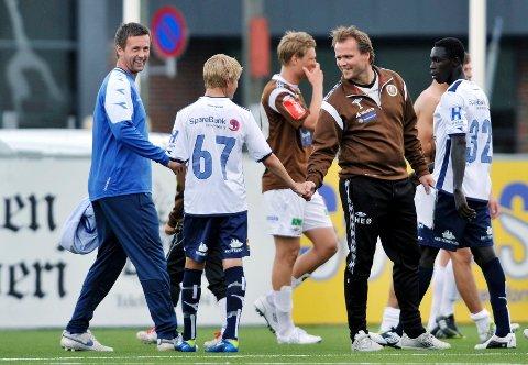 Ronny Deila håper Hans Erik Ødegaard og sønnen Martin finner ut av er best å bli værende i Strømsgodset og trene fast med Nana & co på A-laget.
