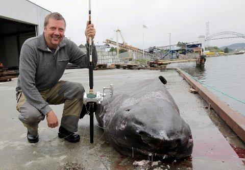 Fisker Per Jensen fra Danmark.