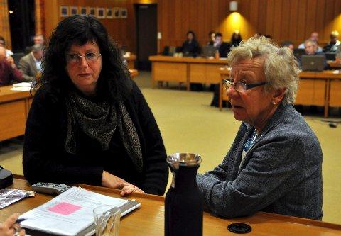 De er uenige om mye, opposisjonsleder Bente Skårdal Kleven (Ap) og posisjonsleder Inger Solberg (H). Men de to sakene Toleransereiser og leie av plasser på Trollhaugen, er de enige om.