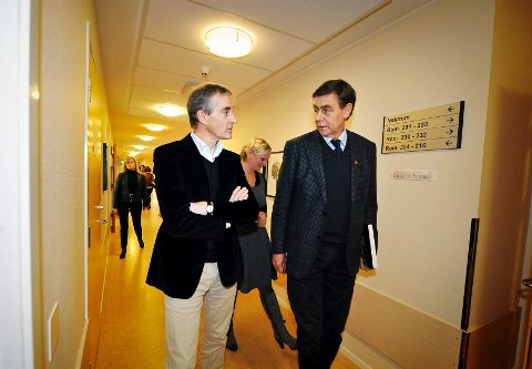 Helseminister Jonas Gahr Støre avfeier Drammen som alternativ for nytt sykehus. Etter alt å dømme blir det derfor Ytterkollen i Nedre Eiker som nå får det nye sykehuset i regionen. Det begeistrer ordfører Bent Inge Bye (Ap).