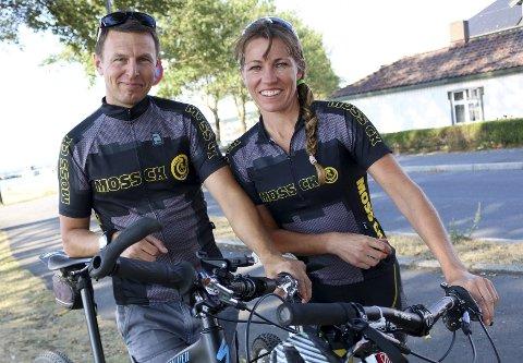 Tom-Viggo Vårdal og Marie Waagan skal få testet formen til de grader under terrengsykkelrittet i Nord-Norge.