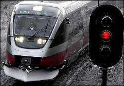 IKKE MOT RØDT PÅ RØROSBANEN: Hittil i år har det ikke vært en eneste registering av tog mot rødt lys på Rørosbanen.