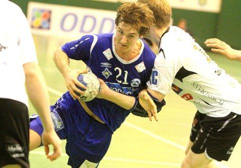 Christian O'Sullivan ble toppscorer med ni mål mot Elverum.