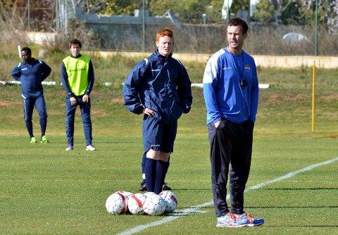 Ronny Deila og SIF vil videreutvikle talentet Martin Rønning Ovenstad.