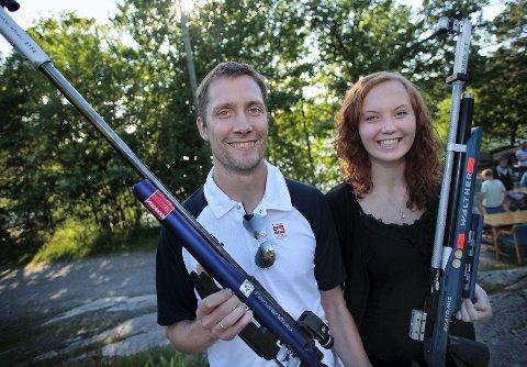teller ned Malin Westerheim og Are Hansen har fire uker igjen før OL står for døren. Og begge virker svært klare for å gjøre en flott innsats i London.