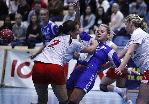 Tatiana Alifanova og HK Rygge har fortsatt muligheter til å berge plassen i 1. divisjon.