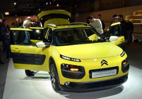 Citroën Cactus representerer en ny måte å tenke bil på.