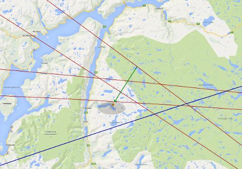 Ildkulen beskrives som blågrønn i fargen og var synlig i tre til fire sekunder. Ildkula skal ha kommet inn helt vest på Hardangervidda, og eksplodert om lag 25 kilometer over fjellet rundt 14 kilometer nordøst for Odda.