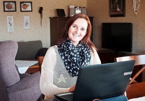Monica Kristiansen er etter hvert blitt en erfaren blogger.