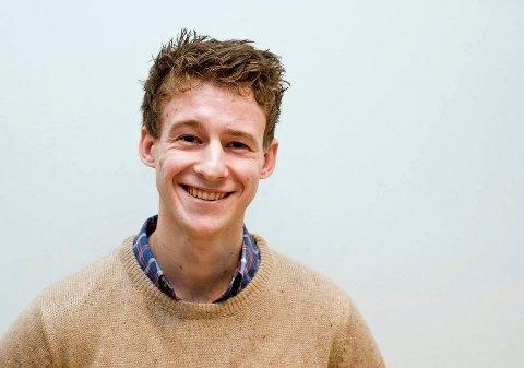 KAN SMILE: Appen til Andreas Jørgensen fra Haugesund har blitt en suksess. Foto: Privat