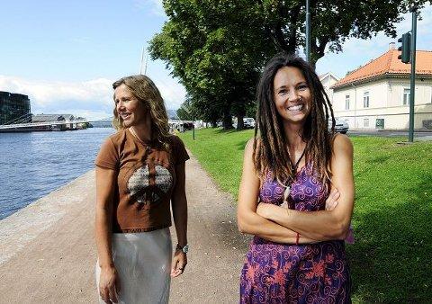 Solfrid Thormodsgard-Henriksen (t.h.) og Ingunn Wright er med.