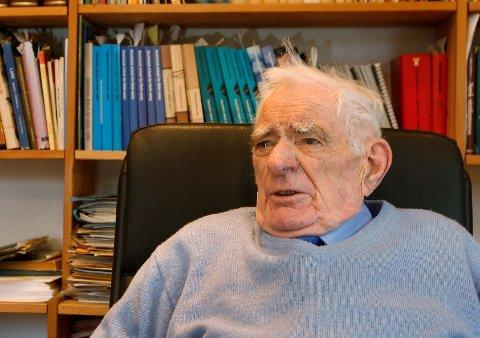 Erik Gjems-Onstad var en engasjert person i alt han gjorde.