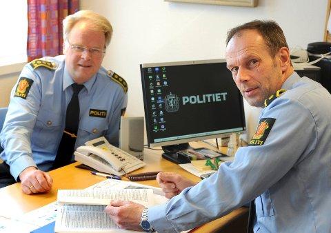 ADVARER: Krimsjef i Kongsberg, Morten Ole Pedersen, oppfordrer folk til å bli enda mer forsiktige med å gi ut personlige opplysninger på nett eller telfon. FOTO: ALEKSANDER ANDERSEN