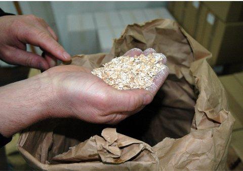 Haandbryggeriet bruker både flaket havre, hvete og brygg i ølet.